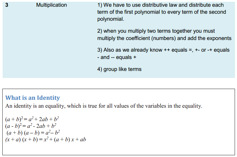Algebraic Expressions and Identities Formulas Class 8 Q5