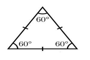 Triangle.Equilateral triangle. image2