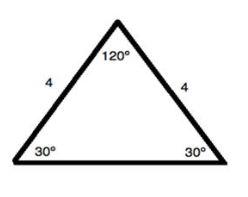 Triangle.Isosceles triangle. image3